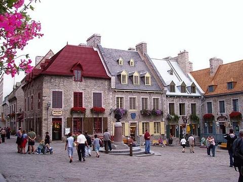 魁北克城旅游图片