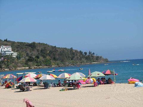 鼓浪屿环岛海滨浴场旅游景点图片