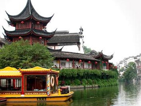 夫子庙秦淮风光带旅游景点图片