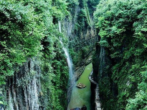 金口大峡谷旅游景点图片
