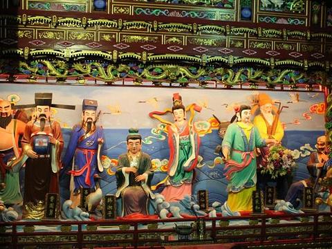 蓬莱三仙山旅游景点图片
