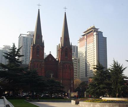 徐家汇天主教堂的图片