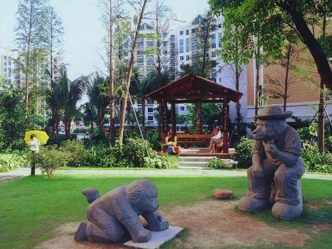 中心公园旅游景点图片