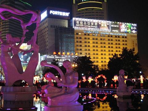 武林广场旅游景点图片