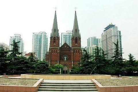 徐家汇天主教堂旅游景点图片