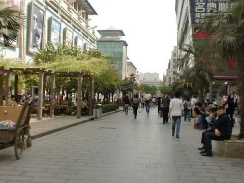 骡马市步行街旅游景点图片