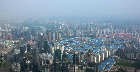 上海环球金融中心的图片