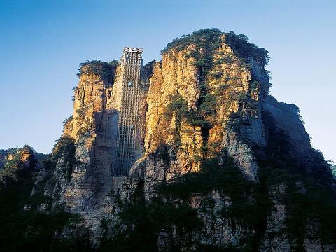 百龙电梯旅游景点图片