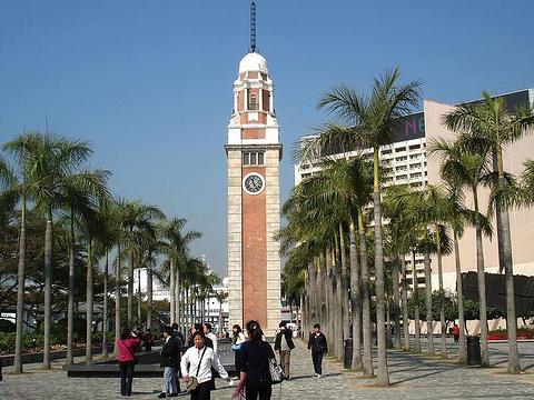 前九广铁路钟楼旅游景点图片