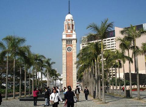 前九广铁路钟楼的图片