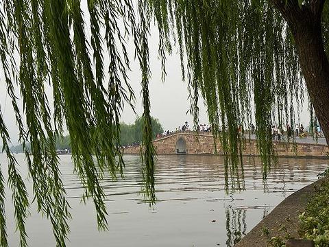 白堤旅游景点图片