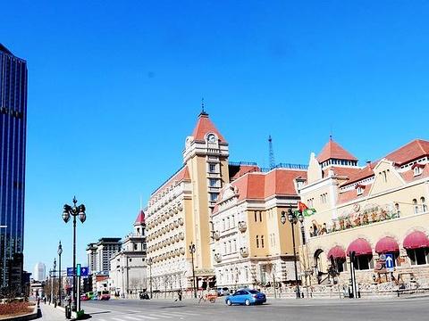 小白楼商业街旅游景点图片