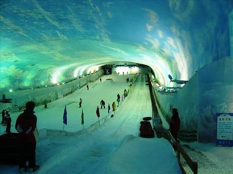 阿尔卑斯山滑雪场