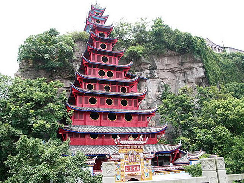 石宝寨旅游景点图片