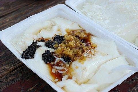 钱氏祖传多味水豆腐摊
