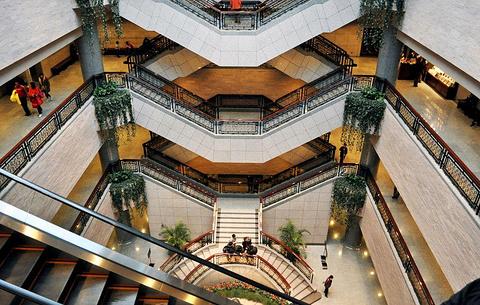 上海博物馆旅游景点图片