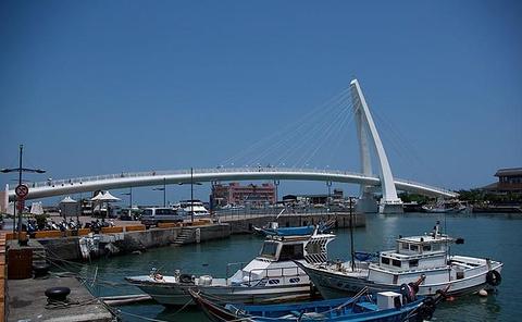 淡水渔人码头旅游景点图片