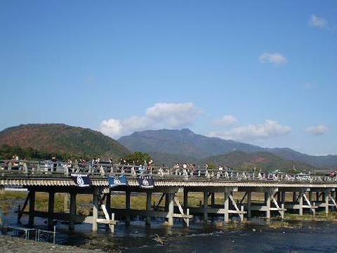 渡月桥旅游景点图片
