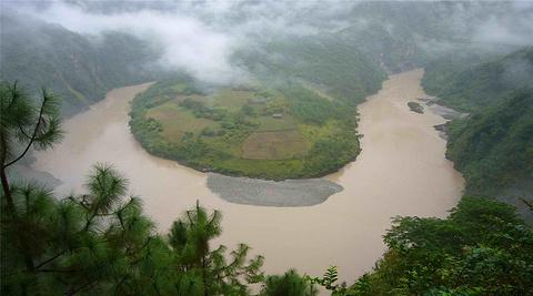 怒江旅游景点图片