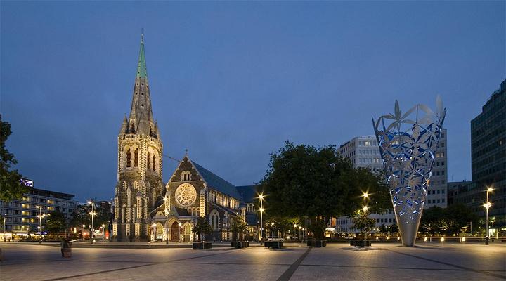 基督城大教堂旅游图片