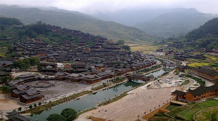 西江千户苗寨旅游图片