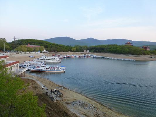 镜泊湖旅游图片