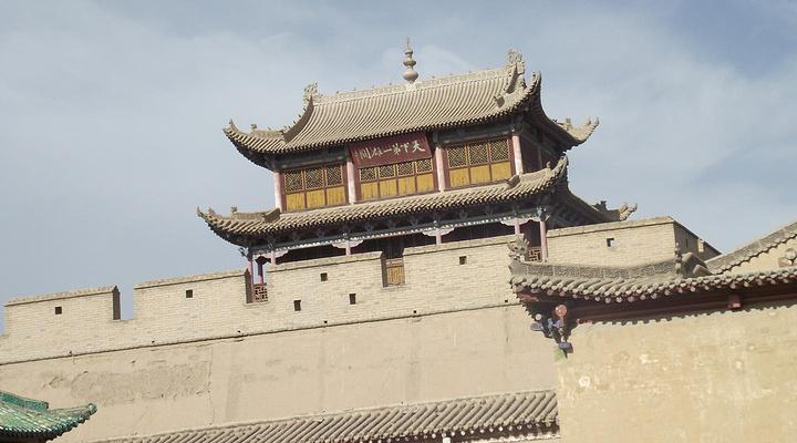 嘉峪关城楼旅游图片