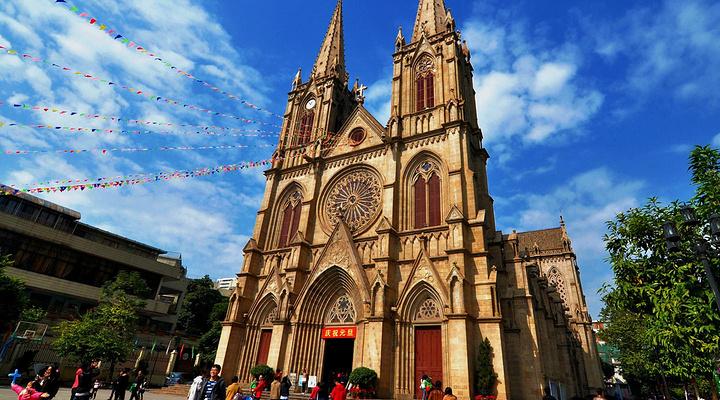 石室圣心大教堂旅游图片