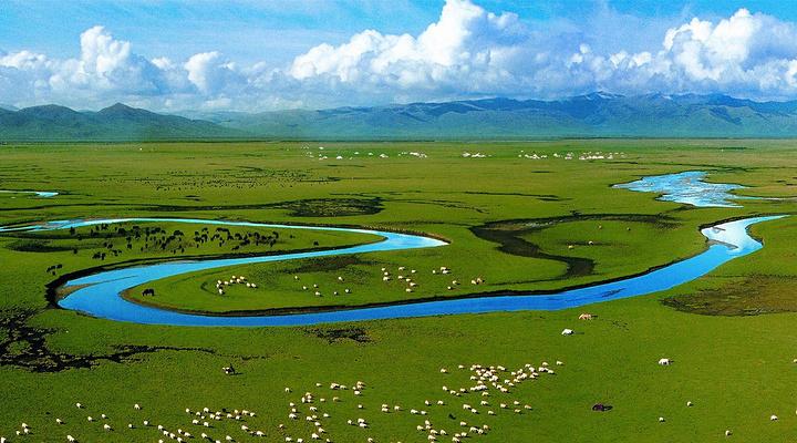 天下黄河第一弯旅游图片