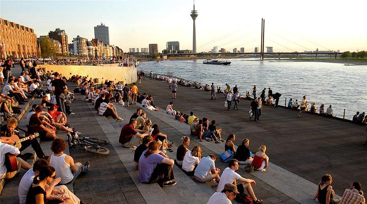 莱茵河畔Rhein旅游图片