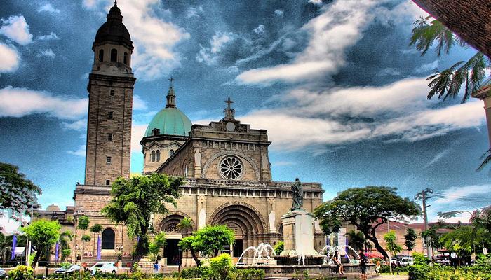 马尼拉大教堂旅游图片