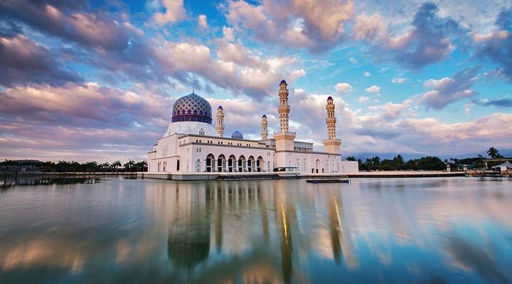 水上清真寺旅游图片