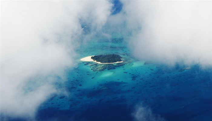 军舰岛旅游图片