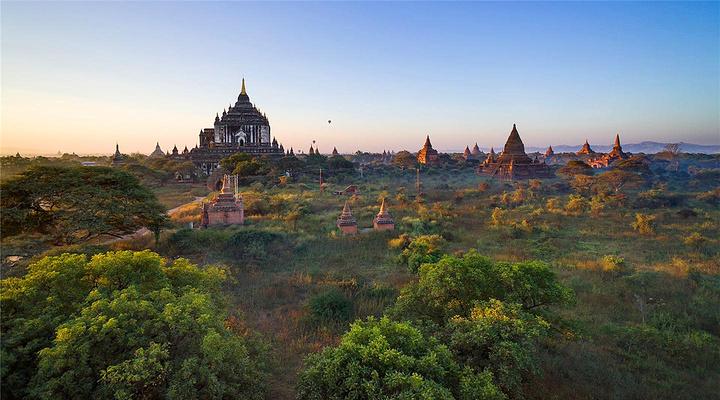 缅甸旅游景点图片