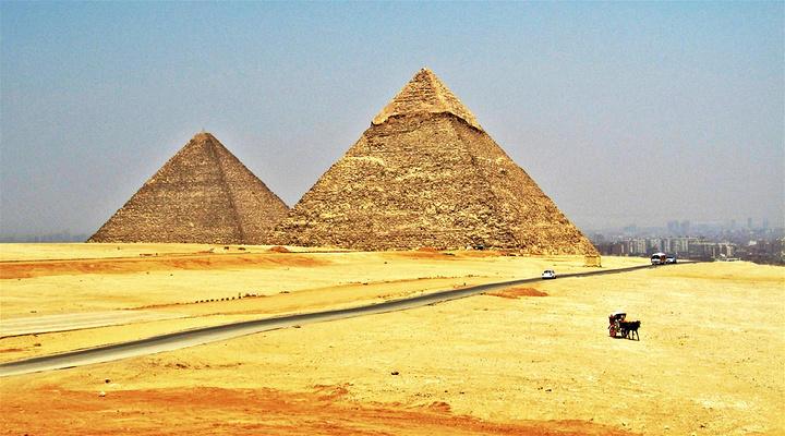 胡夫金字塔旅游图片