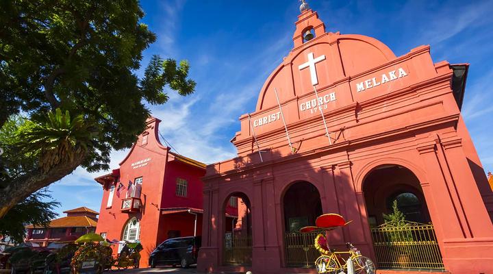 马六甲基督教堂旅游图片