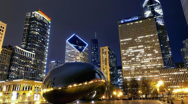 魔镜里的芝加哥旅游图片