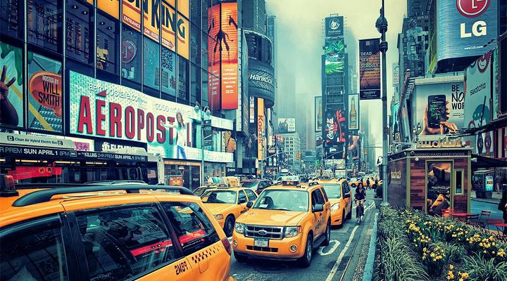 时代广场旅游图片