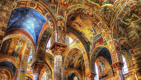 诺曼宫里的帕拉提那礼拜堂