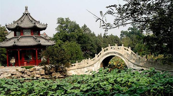 古莲花池旅游图片