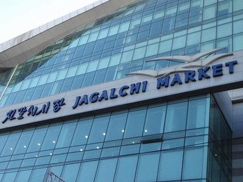 釜山札嘎其市场旅游景点图片