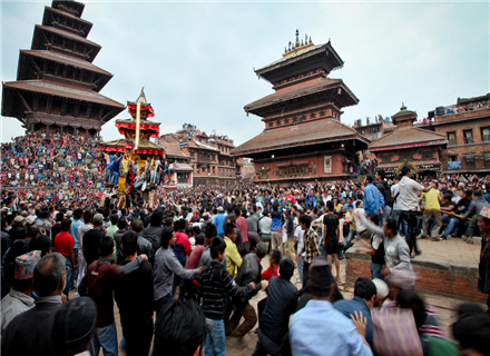 尼泊尔新年 Bisket Jatra