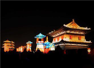 中国大同古都灯会