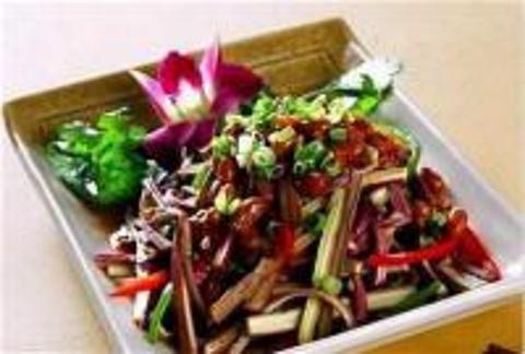 腐乳炒蕨菜