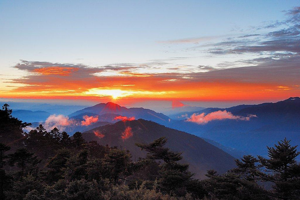 合欢山旅游图片