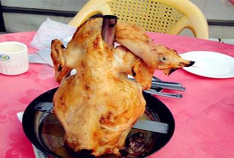 高明吊烧鸡