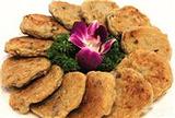 荷塘鲮鱼饼