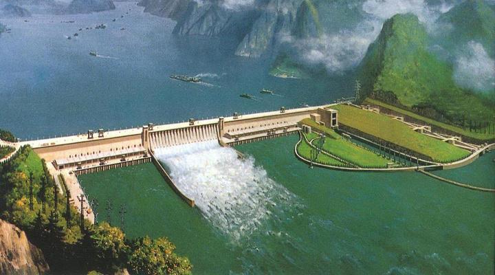 三峡大坝旅游图片