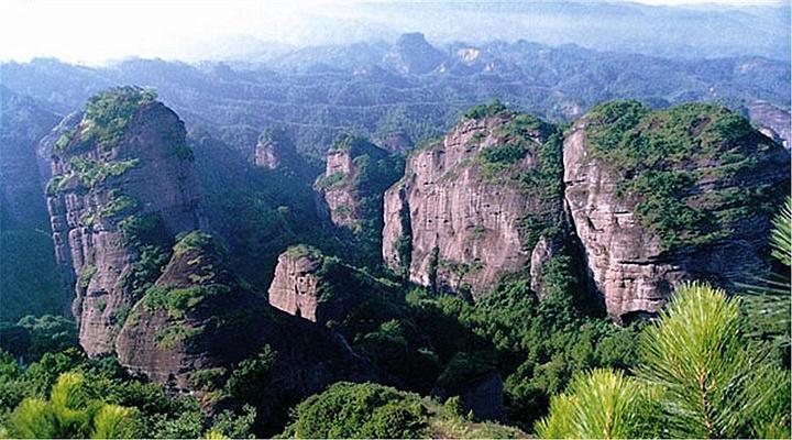 冠豸山旅游图片