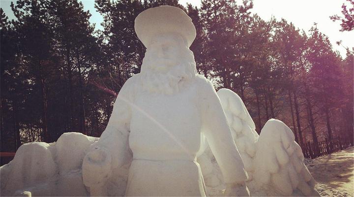 冰雪之国欢迎你旅游图片